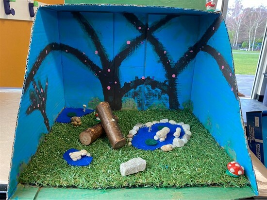 Newsletter week 10, term 2 - Lily Diorama